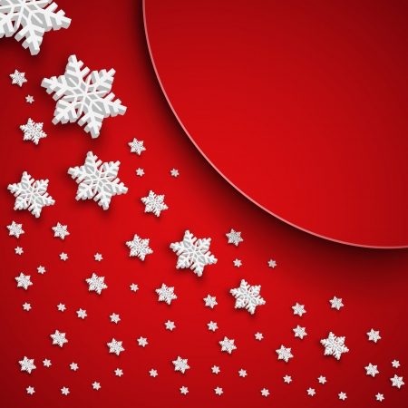 Vector illustration abstract Christmas Background - eps1 Vector