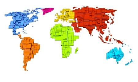 oceania: Colored World, cube design