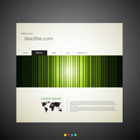 web site design: Web site design art template Illustration