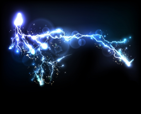 Vector light flash 免版税图像 - 20204063