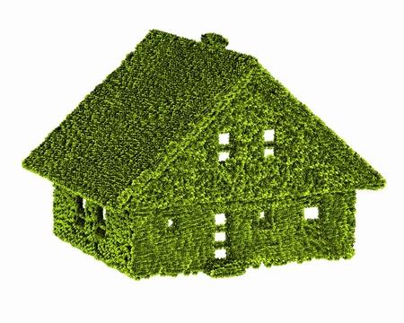 casa verde ecología de la naturaleza