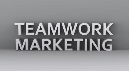 peers: marketing illustration  Stock Photo