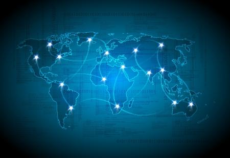 Map technology light design
