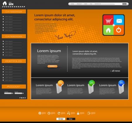 webtemplate: Website Template