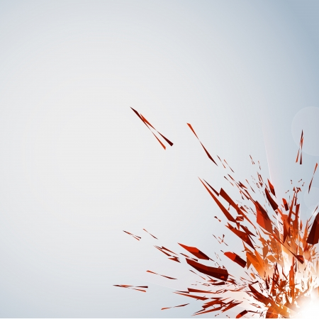 Vector Explosion, all easy editable - add your text Illustration