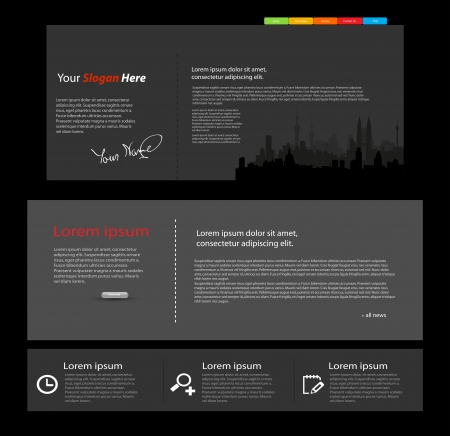 web design color vector Stock Vector - 23180061