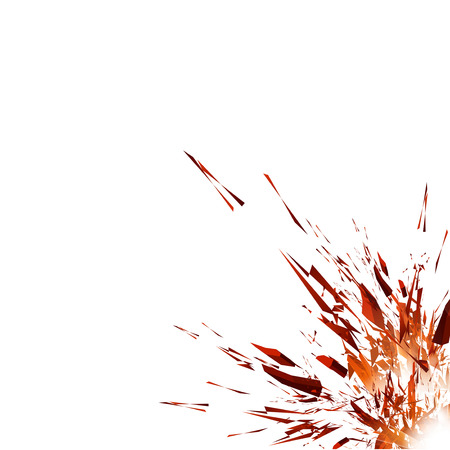 Vector Explosion Stock Photo - 23646528