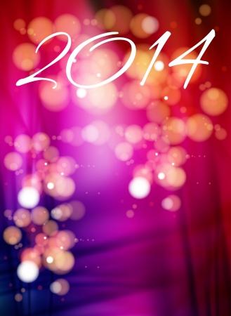Gelukkig Nieuwjaar 2014 vakantie achtergrond