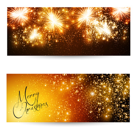 Elegant Christmas layout Vector