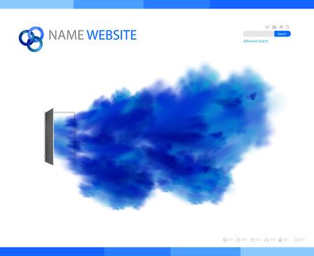 plantilla de sitio web: Plantillas de sitio web corporativo, f�cil todo editable