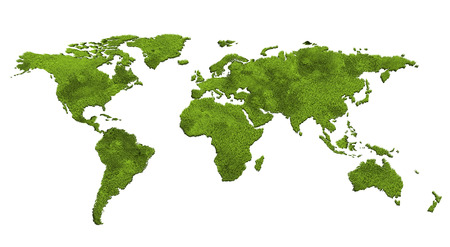 ecology world map Stock Photo - 24868012