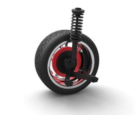 suspension: car suspension