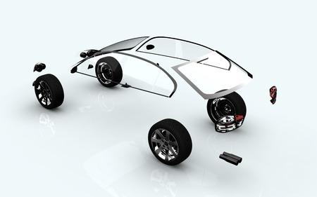 ar: dissociative automotive concept of ar wheels