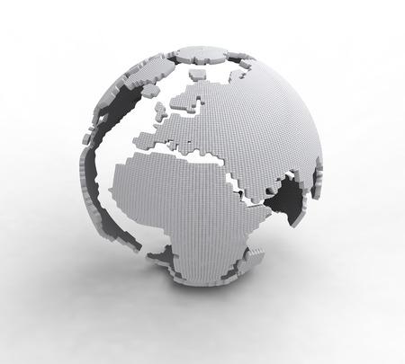 south east asia: World Globe Maps