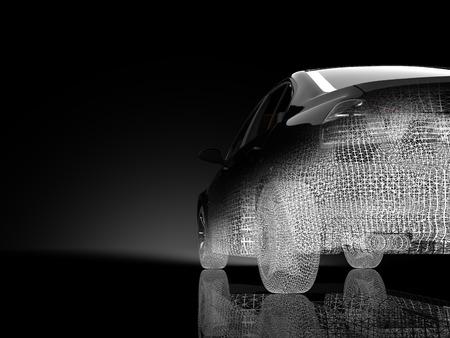 3d model: 3d car model