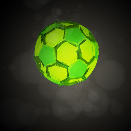 soccer ball: Vector football, soccer Ball
