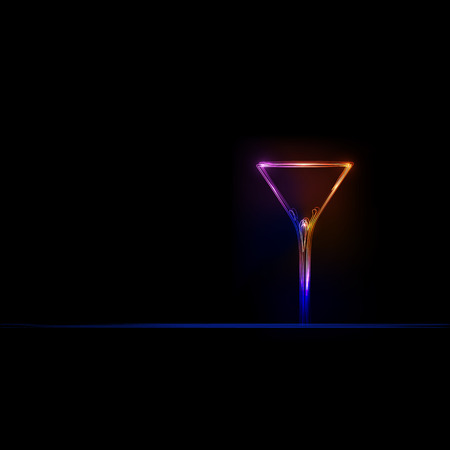 cocktail party light design background, easy editable Vector