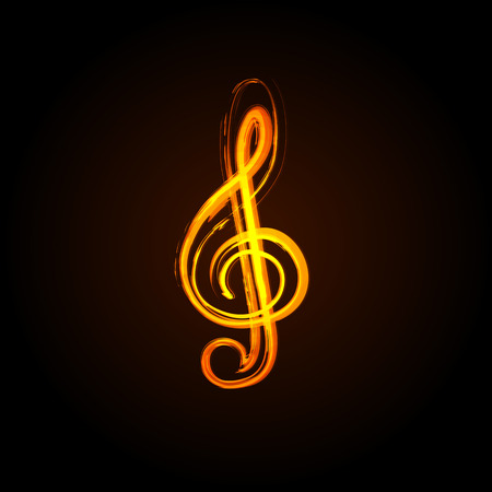 quarters: Music notes on a solide white background, easy editable