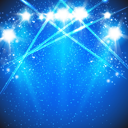 spotlight effect scene background 矢量图像