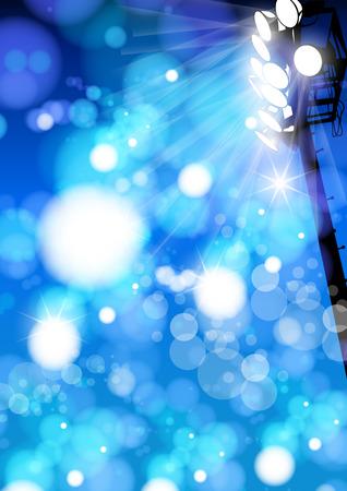 reflector: Vector Stadium Reflector Light with Sparkling