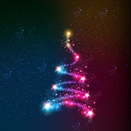 albero pino: astratto albero di Natale