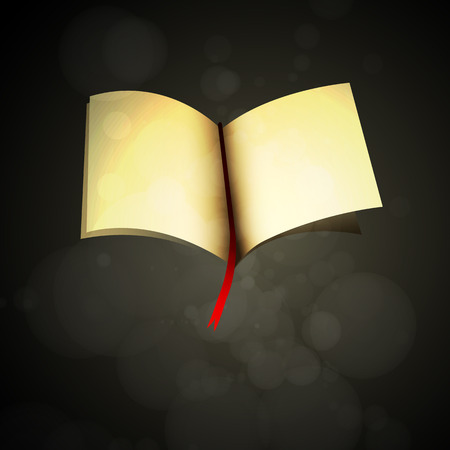 signifier: Book sign, Vector illustration Illustration