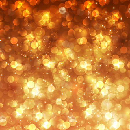 defocused: Festive Christmas bokeh background easy editable