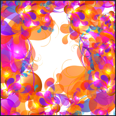 lightness: vector color abstract background Illustration