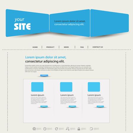 web template: web design template easy editable
