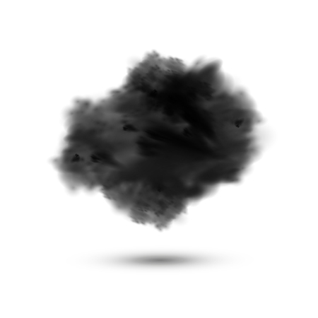 business backgound: Smoke of explosion background