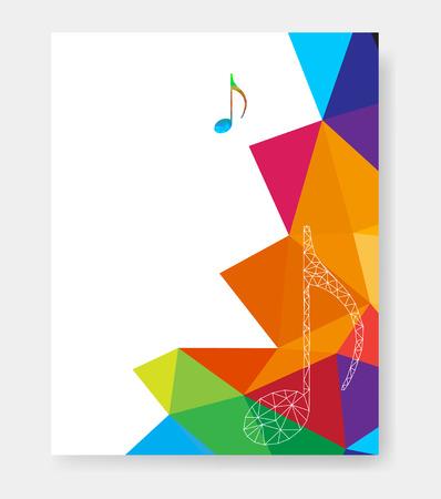Cartel de la música plantillas de fácil todo editable