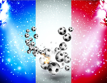 uefa: Football background soccer background with light easy all editable