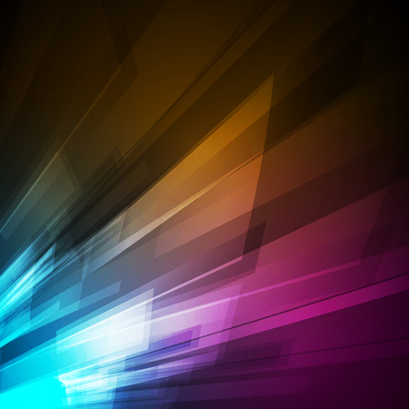 Abstract color light background easy editable Ilustrace