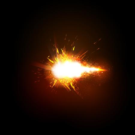 Spark Effect Sparkling stars light effect easy editable