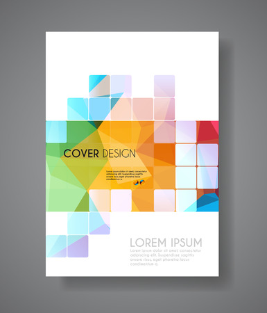 Cover Annual Flyer Poster easy editable