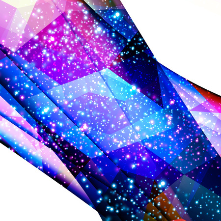 glittering polygon triangles background easy all editable