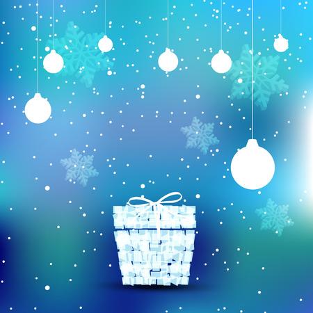 簡単クリスマス ギフト パンフレットすべて編集可能