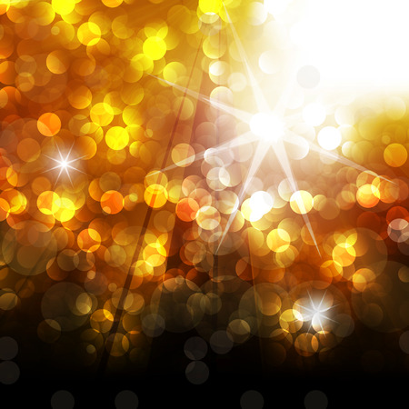 new year gold glitter background Ilustrace