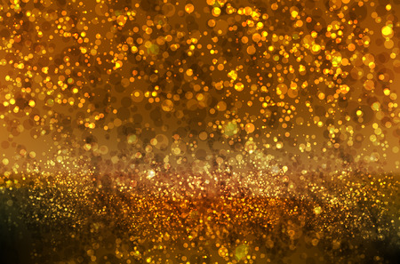 Glitter Christmas and New Year bokeh background
