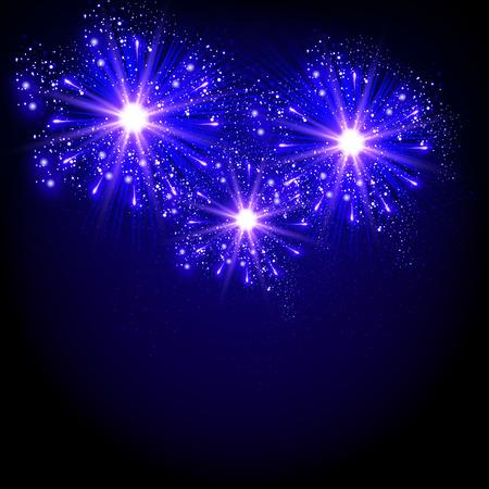 New Year fireworks background celebration background