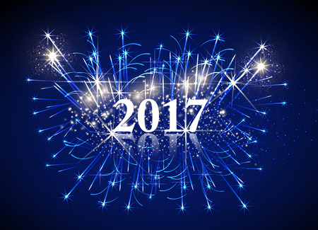 Happy New Year easy editable 矢量图像