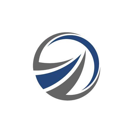 Abstract logo for business company. Corporate identity design element. Growth Logotype idea. Arrow up 版權商用圖片 - 134042239