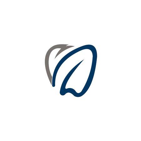 dental health care medicine illustration logo set