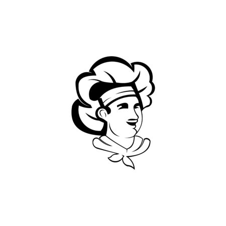 Chef logo Design Vector, Cooking logo template, Bakery logo template.