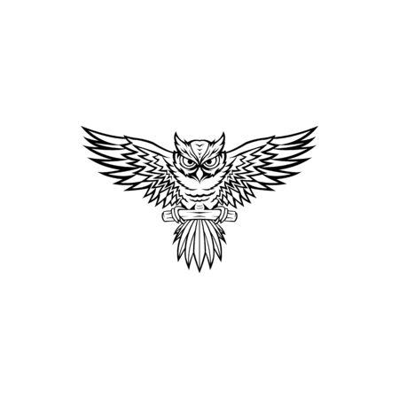 inspiration owl logo, owl sunglasses logo design, owl mascot design, owl character design vector
