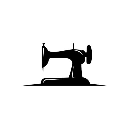 vector old sewing machine icon symbol sign from modern sew collection