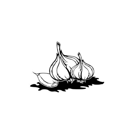 onion vector isolated on white background from gastronomy collection, onion  trendy and modern onion symbol for Ilustrace