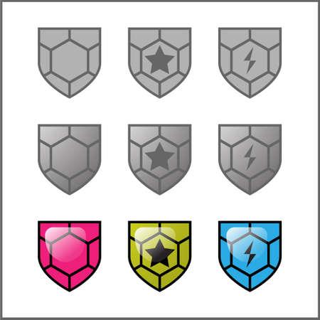 guard vector for icon or logo