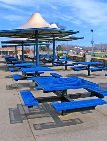 picnic tables Stock Photo - 936259