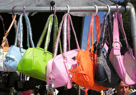 colorful purses